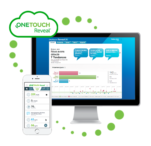 Application web OneTouch Reveal®